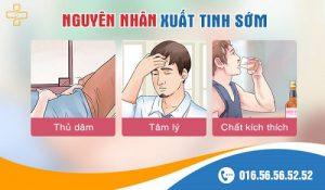 6 nguyên nhân gây xuất tinh sớm ở nam giới thường gặp